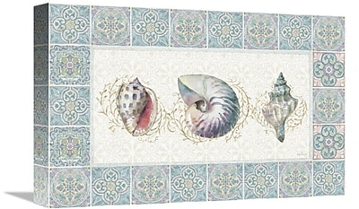 East Urban Home 'Ocean Dream XIII' Graphic Art Print on Canvas; 20'' H x 30'' W