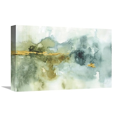 East Urban Home 'My Greenhouse Abstract I Crop' Print on Canvas; 20'' H x 30'' W