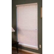 Ebern Designs Room Darkening White Venetian Blind; 22.25'' W x 48'' L