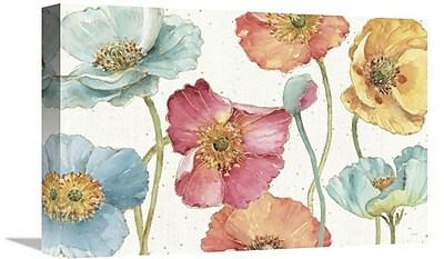 East Urban Home 'Spring Softies I' Print on Canvas; 12'' H x 18'' W