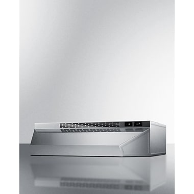 Summit Appliance 42'' 180 CFM Convertible Under Cabinet Range Hood
