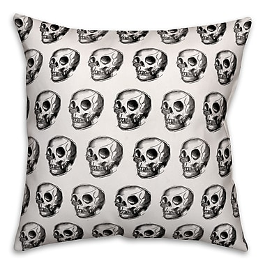 The Holiday Aisle Double-Sided Print Throw Pillow; Indoor