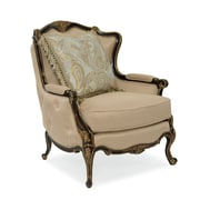 Astoria Grand Dark Wood Bergere Armchair