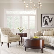 Darby Home Co Tufted Occasional Armchair