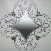 Darby Home Co Ancelina Wall Mirror in Silver
