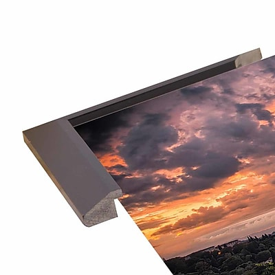Ebern Designs 'Bloody Sky' Photographic Print; Paper