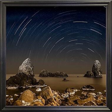 Ebern Designs 'Starry Night' Graphic Art Print; Paper