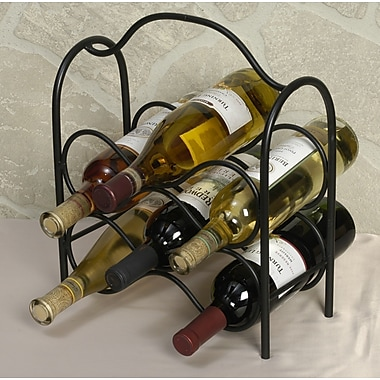 Winston Porter Ledbetter 6 Bottle Tabletop Wine Rack