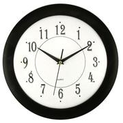 Red Barrel Studio Burtundy Time 12'' Wall Clock