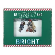 The Holiday Aisle Thompson Merry and Bright Picture Frame