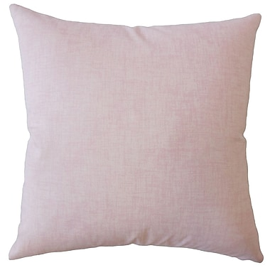 One Allium Way Dominico Plaid Down Filled 100pct Cotton Throw Pillow; 20'' x 20''