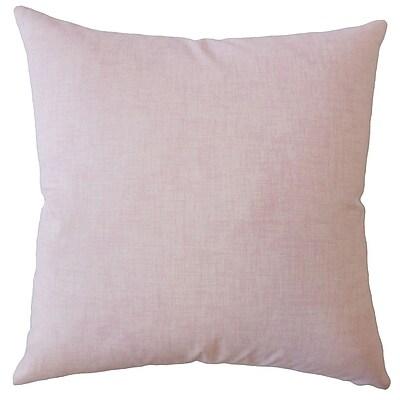 One Allium Way Dominico Plaid Down Filled 100pct Cotton Throw Pillow; 20'' x 20''