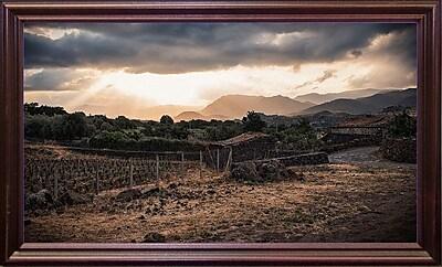 Loon Peak 'The Light' Photographic Print; Cherry Wood Grande Framed Paper