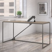 Williston Forge Riverside Industrial Writing Desk; 30'' H x 61.4'' W x 25.1'' D