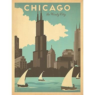Williston Forge 'Retro Chicago' Vintage Advertisement