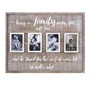 Gracie Oaks Abinash Family Collage Wall Picture Frame