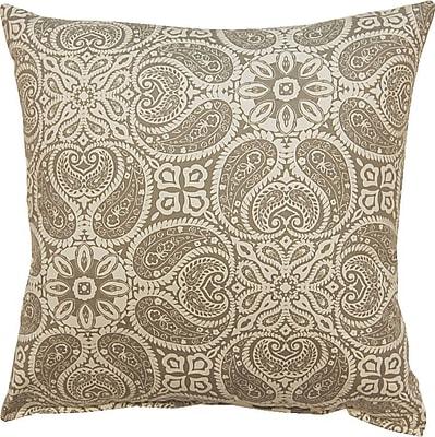 Bungalow Rose Dacia 100pct Cotton Throw Pillow; Slate