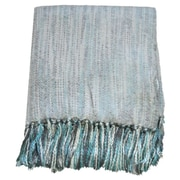 Bungalow Rose Derry Throw Blanket; Silver