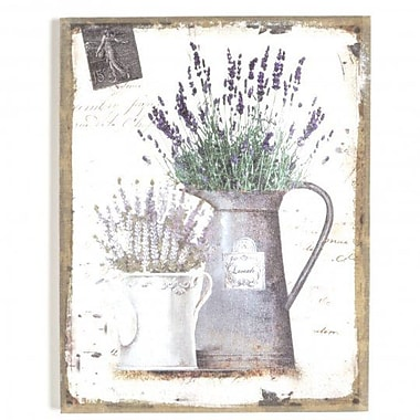 Ophelia & Co. 'Lavender (Style 0)' Graphic Art Print on Canvas