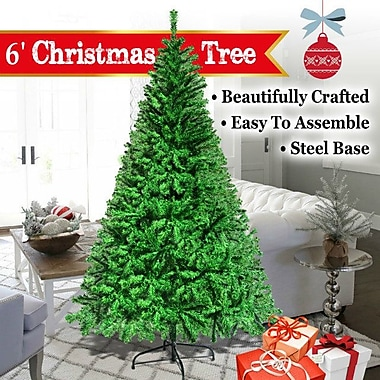 The Holiday Aisle New 6' Green Pine Artificial Christmas Tree