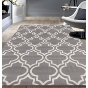 Charlton Home Freeman Gray Area Rug; 5' x 7'