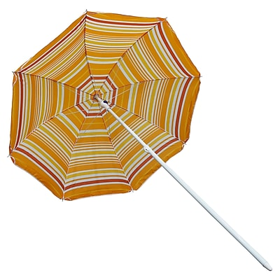 Freeport Park Allyson 6' Beach Umbrella; Orange