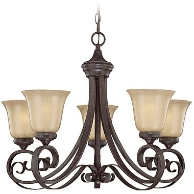 Fleur De Lis Living Wilhoit 5-Light Shaded Chandelier