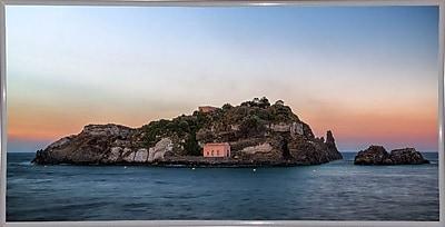 East Urban Home 'Lachea Island' Photographic Print; White Metal Framed Paper