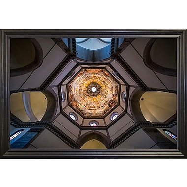 East Urban Home 'Under the Brunelleschi's Dome' Photographic Print; Rolled Canvas