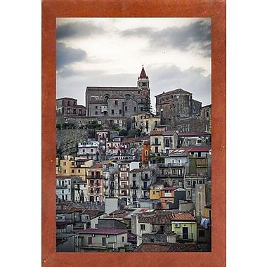 East Urban Home 'Vertical' Photographic Print; Canadian Walnut Wood Medium Framed Paper