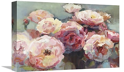 East Urban Home 'Wild Roses' Print on Canvas; 16'' H x 24'' W