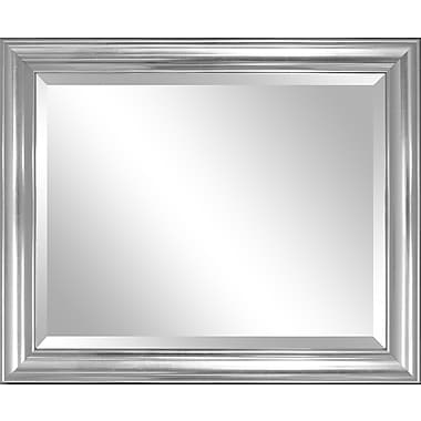 Darby Home Co Ansell Silver Wall Mirror