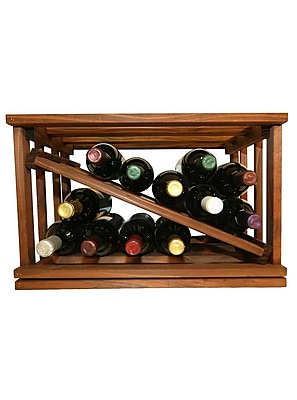 Darby Home Co Allaire 12 Bottle Tabletop Wine Rack