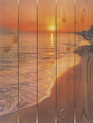 Highland Dunes 'Sunset Beach' Photographic Print; 16 x 24