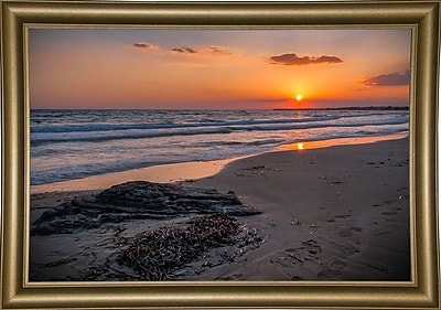 Highland Dunes 'The End of the Sun' Photographic Print; Bistro Gold Framed Paper