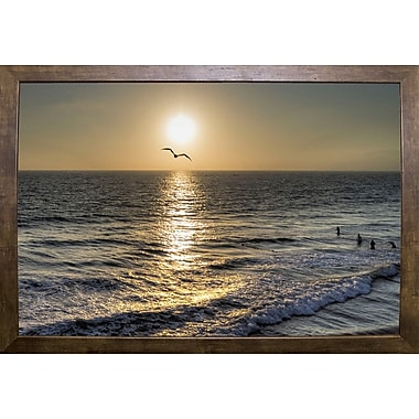 Highland Dunes '41' Photographic Print; Cafe Mocha Framed Paper