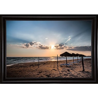 Highland Dunes 'Waiting Summer' Photographic Print; Bistro Expresso Framed Paper
