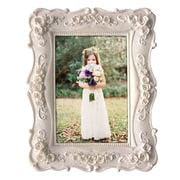 Ophelia & Co. Yulita Resin Picture Frame; White
