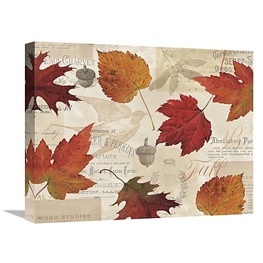 East Urban Home 'Fall' Graphic Art Print on Canvas; 22'' H x 28'' W