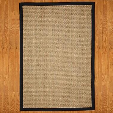 Highland Dunes Alland Contemporary Hand-Woven Brown Area Rug; 3' x 5'