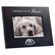 Winston Porter Lisle Pawprints On My Heart Picture Frame