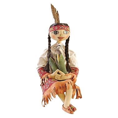 The Holiday Aisle Shawna Indian Girl Figurine