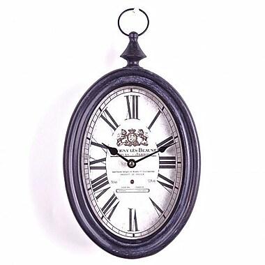 Darby Home Co Marlo Savigny Les Beaune Metal Wall Clock