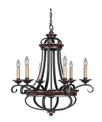 Astoria Grand Westerfield 6-Light Candle-Style Chandelier