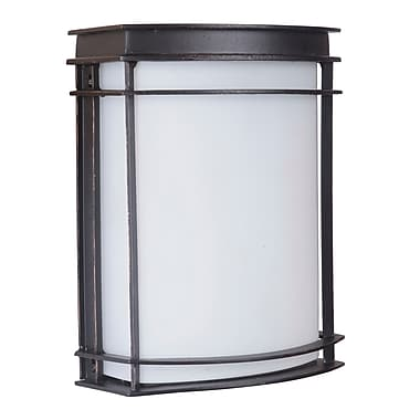 Bloomsbury Market Villanova Contemporary 1-Light Outdoor Flush Mount