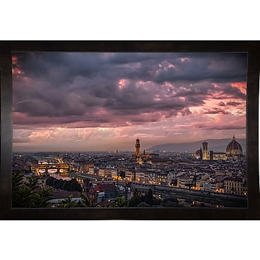 Ebern Designs 'After the Storm' Photographic Print; Rolled Canvas
