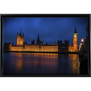 Ebern Designs 'The Classic' Photographic Print; Black Metal Framed Paper