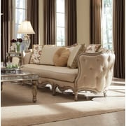 Astoria Grand French Carved Wood Sofa