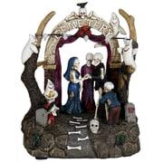 The Holiday Aisle Halloween Wedding Scene w/ Timer