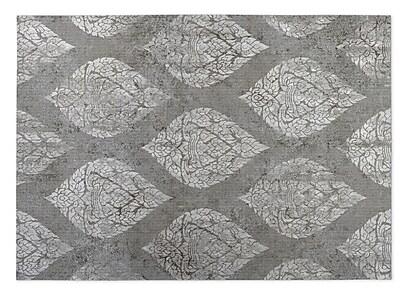 Bungalow Rose Elna Indoor/Outdoor Doormat; Gray